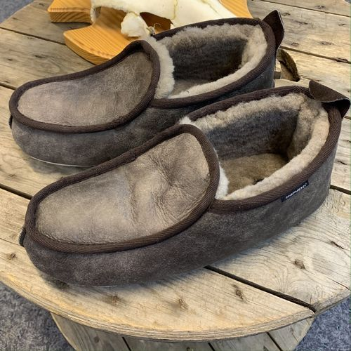 Shepherd Malte Slipper Antique Stone M